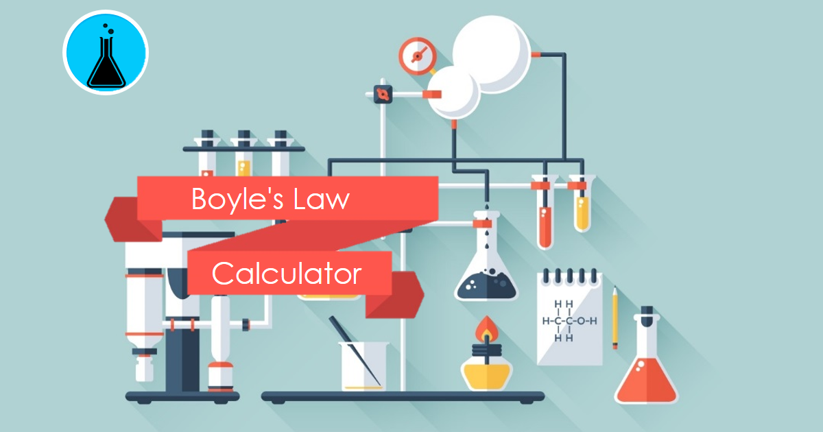 Boyle U0026 39 S Law Calculator